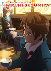 Search netflix The Disappearance of Haruhi Suzumiya